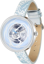 Elle Girl Stainless Steel Multicolor Leather Strap GW40076S02X