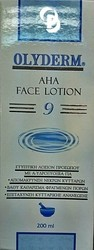 Olyderm Aha Face Lotion 200ml