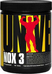 Universal Nutrition Nox 3 180 ταμπλέτες
