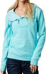 FOX GIRLS PERFECT LUSH PULLOVER HOODY ICED