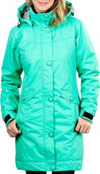 FUNSTORM ALLEY WOMENS COAT ICE GREEN