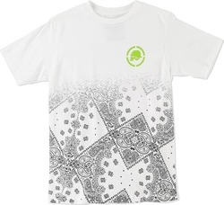 METAL MULISHA PRIME S/S TEE BOYS OPTIC WHITE
