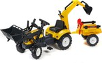 Ranch Trac & Loader & Excavator & Trailer