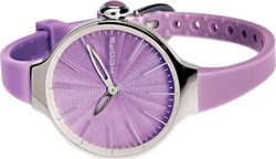 Hoops Cherie Purple Rubber Strap 2483L-18