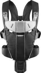 BabyBjorn Miracle Black Silver