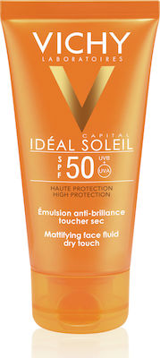 Vichy Ideal Soleil Mattifying Face Fluid Dry Touch SPF50 50ml