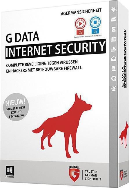 G-Data Internet Security 2015 (1 Licences , 1 Year) Key ...