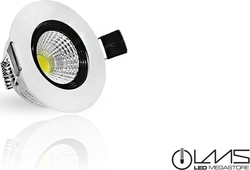 Led Cob Downlights LMS 5 W Epistar Chip Λευκό Ημέρας 05867