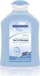 Sanosan Bath & Shampoo 200ml