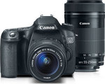 Canon EOS 70D Kit (18-55 IS STM + 55-250 IS STM)