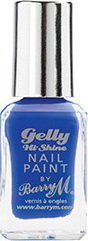 Barry M Gelly Hi Shine Nail Paint No 27 Damson