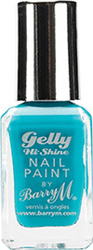 Barry M Gelly Hi Shine Nail Paint No 15 Guava