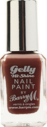 Barry M Gelly Hi Shine Nail Paint No 34 Cocoa