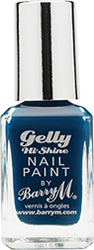 Barry M Gelly Hi Shine Nail Paint No 2 Blackberry