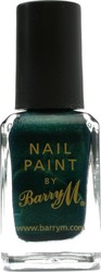 Barry M nail Paint No 299 Racing Green