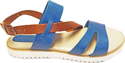 EL GRECO SANDALS - blue/brown (031)