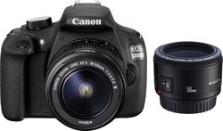 Canon EOS 1200D Kit (18-55 DC III + 50 f/1.8)