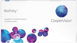 Cooper Vision Biofinity Μηνιαίοι 6pack