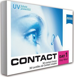 Zeiss Contact Day 1 Easy Wear Ημερήσιοι 30pack