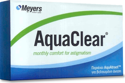 Meyers Aquaclear For Astigmatism Μηνιαίοι 3pack