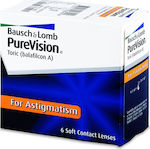 Bausch & Lomb Purevision Toric Μηνιαίοι 6pack