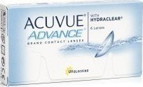 Acuvue Advance With Hydraclear Δεκαπενθήμεροι 6pack