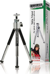 Konig Mini Table Tripod Black (KN-TRIPOD10BL)