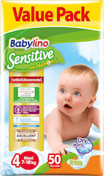 Babylino Sensitive No 4 (7-18Kg) 50τμχ