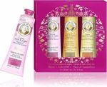 Roger & Gallet Set Hand & Nail Cream Trio Rose