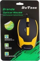 De Tech 6D Wired Optical Mouse