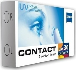 Zeiss Contact Day 30 Colours Μηνιαίοι 2pack