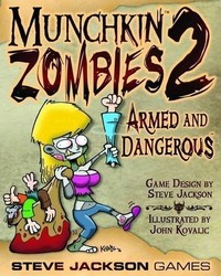 Steve Jackson Games Munchkin Zombies 2 Armed And Dangerous