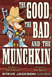 Steve Jackson Games The Good The Bad And The Munchkin