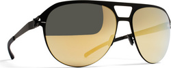 Mykita Aron Black / Gold Flash