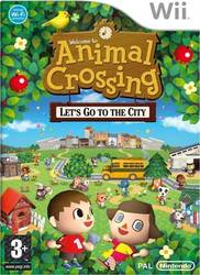 Animal Crossing Let's Go To City Wii