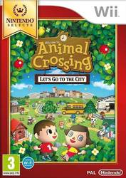 Animal Crossing Let's Go to the City (Selects) Wii