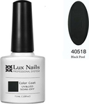 Lux Nails Color Black Pool 40518
