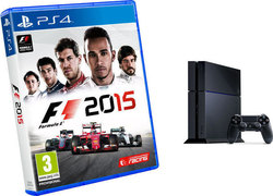 Sony Playstation 4 (PS4) 500GB & Formula 1 2015