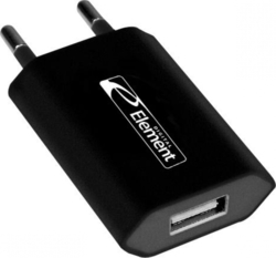 Element USB Wall Adapter Μαύρο (CH-25K)