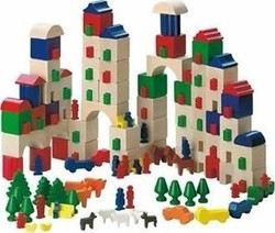 Haba Little Amsterdam Block Set