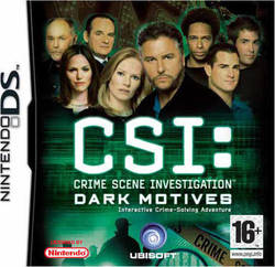 CSI Crime Scene Investigation Dark Motives DS