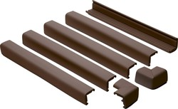 Prince Lionheart Fireplace Guard Chocolate (With 2 Corners)