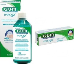 GUM Paroex 0.06% 500ml + Paroex Toothpaste 0.06% 75ml