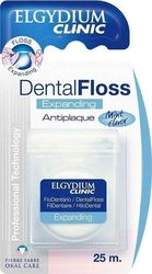 Elgydium Dental Floss Expanding Antiplaque 25m