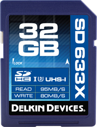 Delkin Elite SDHC 32GB U3