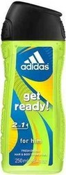Adidas Get Ready Shower Gel 250ml