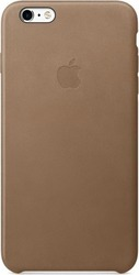 Apple Back Cover Leather Brown (iPhone 6s Plus)