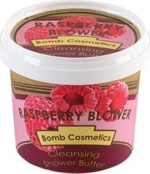 Bomb Cosmetics Raspberry Blower Cleansing Shower Butter 320ml