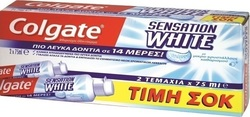 Colgate Sensation White 2x 75ml