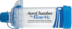 Trudell Aerochamber Plus Flow-Vu Mouthpiece (5 years+)